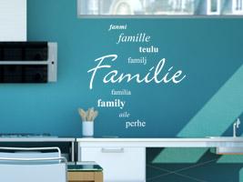 Familiensprüche Als Wandtattoo Spruch Wandtattoos Für Die Familie