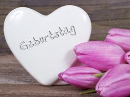 Stein Herz Für Geburtstagsspruch