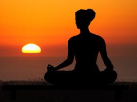 Sonnenuntergang als symbol für lebensweisheiten