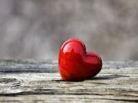 Rotes Herz Als Symbol Für Die Liebe