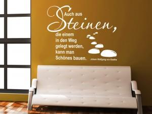 spr che aus der arbeitswelt als wandtattoos spruch. Black Bedroom Furniture Sets. Home Design Ideas