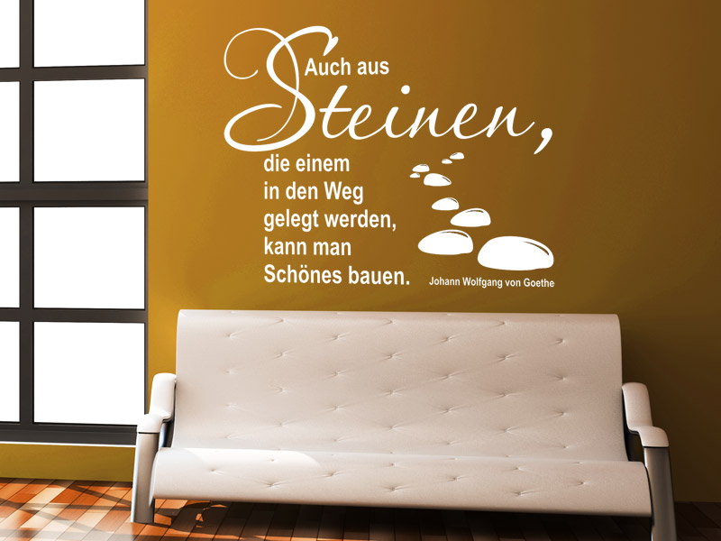 spr che aus der arbeitswelt als wandtattoos spruch. Black Bedroom Furniture Sets. Home Design Ideas
