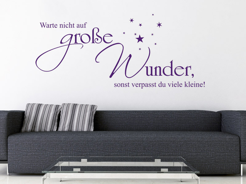 sch ne spr che wand zitate und spr che. Black Bedroom Furniture Sets. Home Design Ideas