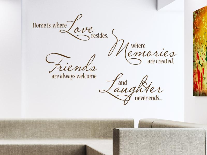 wandtattoos auf englisch englische spr che und zitate. Black Bedroom Furniture Sets. Home Design Ideas