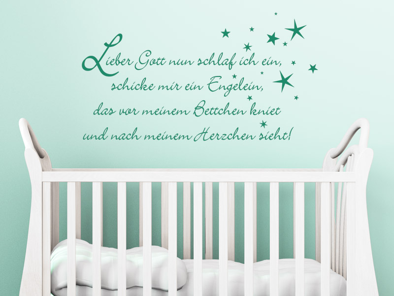 wandtattoo spr che baby reuniecollegenoetsele. Black Bedroom Furniture Sets. Home Design Ideas