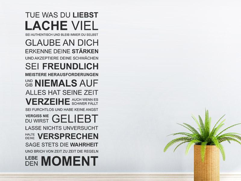 Motivierende Wandtattoo Spruche Wandtattoo Spruch Zur Motivation