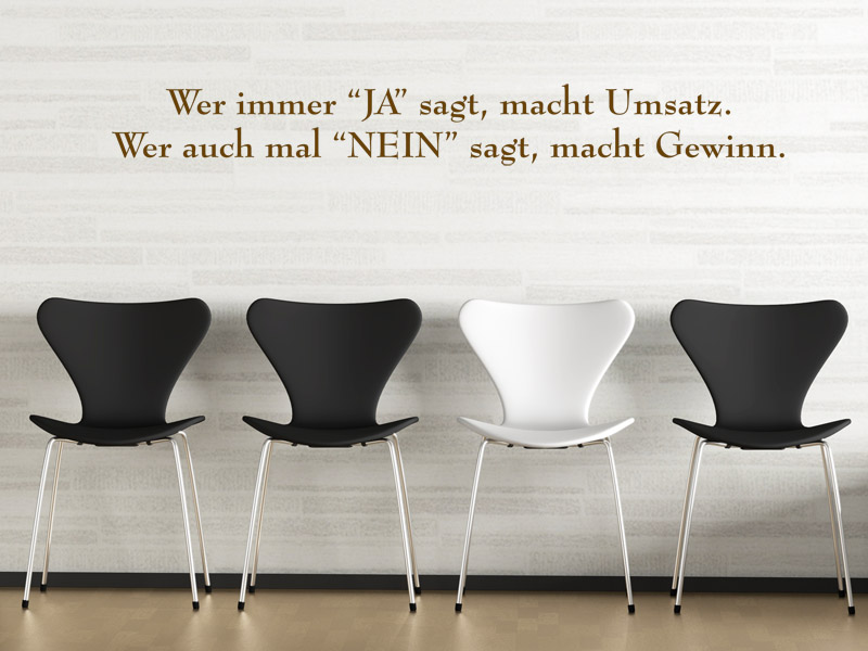 spr che aus der arbeitswelt als wandtattoos spruch wandtattoos f rs b ro. Black Bedroom Furniture Sets. Home Design Ideas